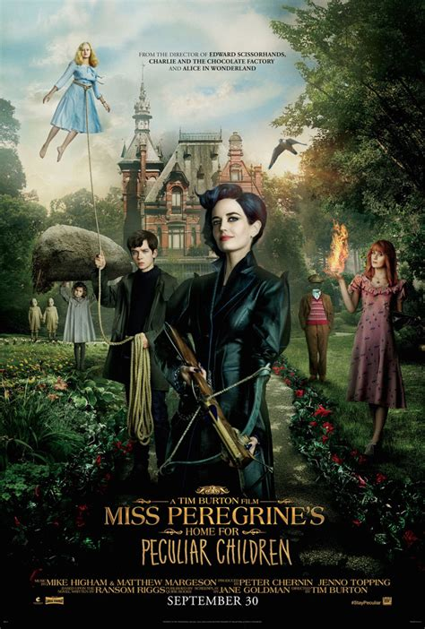 miss peregrine s home for peculiar children and