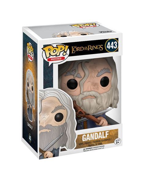 Funko Pop Gandalf The Lord Of The Rings lord of the rings gandalf funko pop figure horror shop