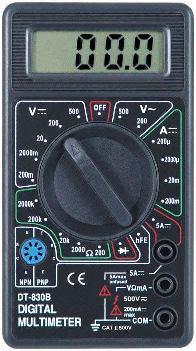 Multimeter Digital Dt830b digital multimeter dt830b