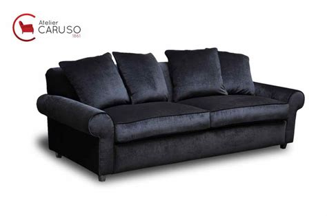 superba Foderare Il Divano #6: divano-su-misura-in-velluto-nero.jpg