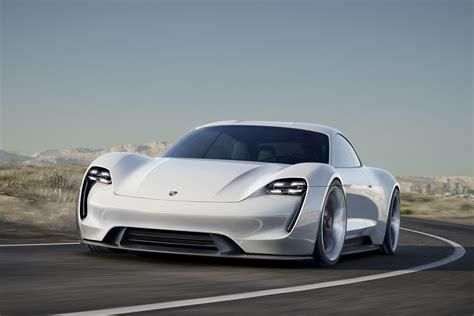 Porsche Electric Car History Porsche S Mission E The Ultra Fast Concept Car That Can