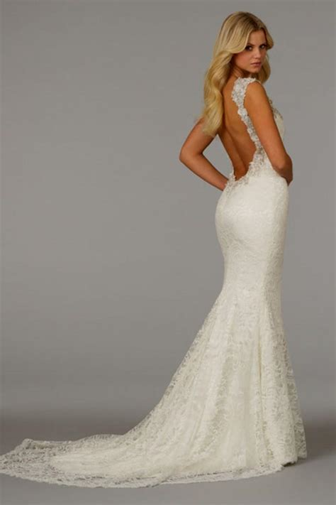 mermaid wedding dresses lace backless mermaid wedding dresses naf dresses