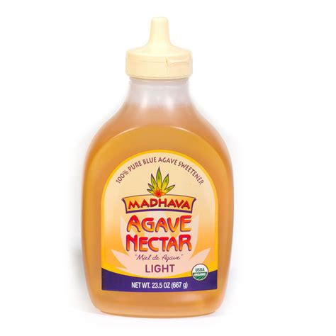 organic agave nectar 23 ozl vegan vegetarian sweetner
