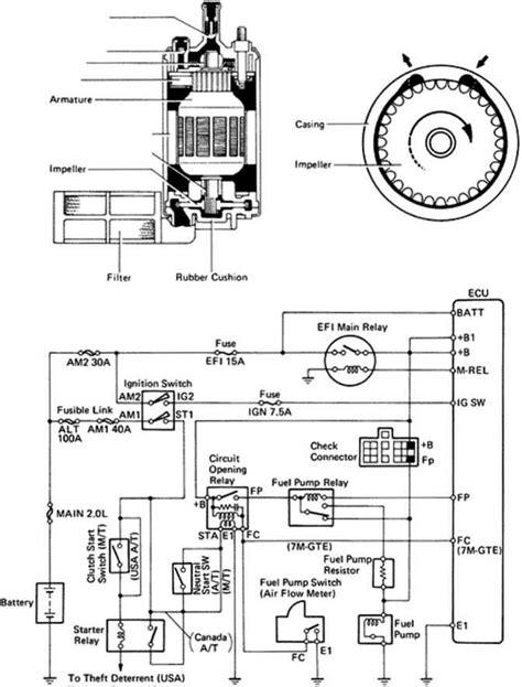 toyota supra fuel wiring diagram toyota wiring