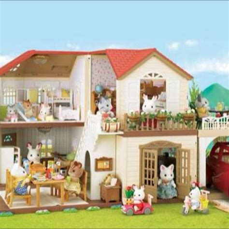 Sylvanian Family Maple Manor With Carport by Sylvanian Families Maple Manor With Carport Toys