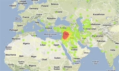 syria map here s where syria is located on a map in you didn t