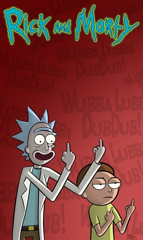 newgrounds mobile rick and morty cell phone wallpaper by mikeagar85 on