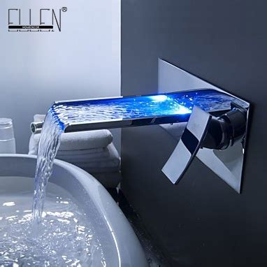 Wasserhahn Badewanne shipping in 24 hours bathroom mixer tap color changing led