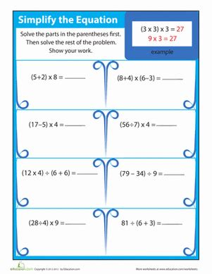 5th grade math worksheets order of operations order of operations things multiplication worksheets multiplication and worksheets