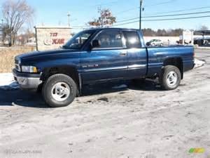 2000 Dodge Ram Extended Cab 2000 Patriot Blue Pearlcoat Dodge Ram 1500 Slt Extended