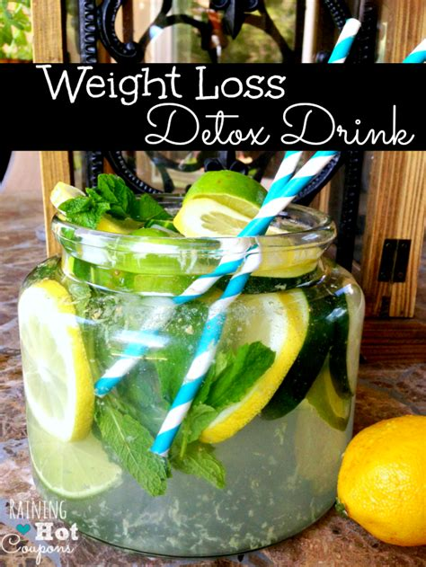 Detox Water Cucumber Lemon Lome Juice by Weight Loss Detox Drink Recipe