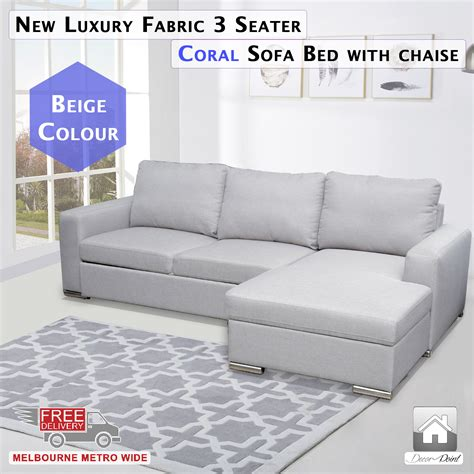 3 seater chaise sofa bed 3 seater sofa bed with chaise 28 images concord fabric