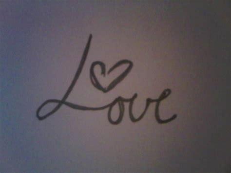 love tattoo cursive cursive heart love pencil tattoo image 146560 on