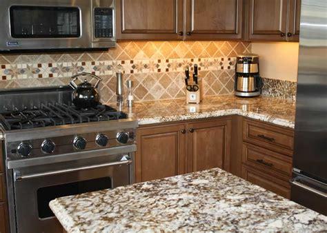 Caramel Brown Granite Kitchen   MilleStone Marble & Tile