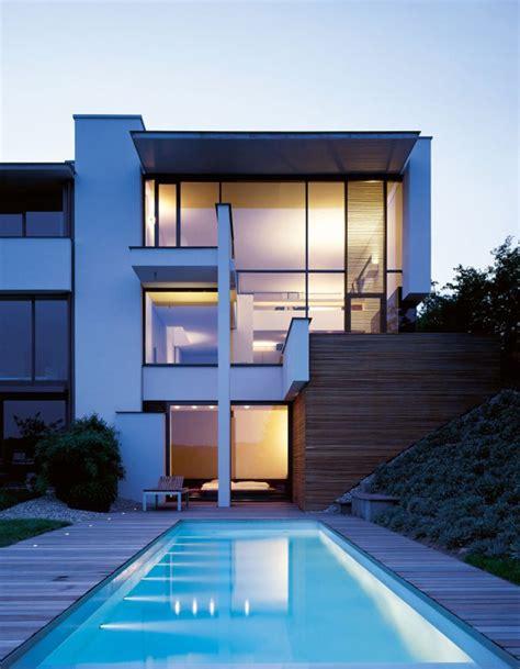 Two Modern Villas Hidden by a single Facade: MIKI 1 House