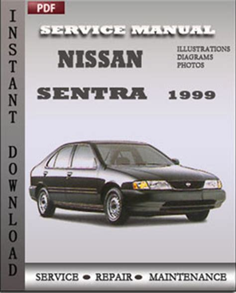 nissan sentra 1999 ga service manual download repair service manual pdf