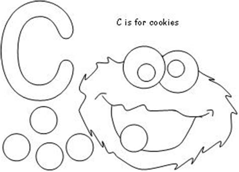 C Is For Cookie Coloring Page coloring cookie picture 171 free coloring pages