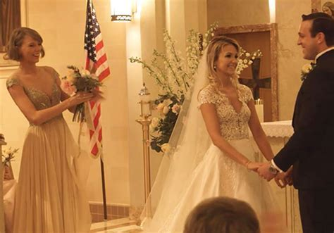 Taylor Swift Gives Maid Of Honour Speech For Friend
