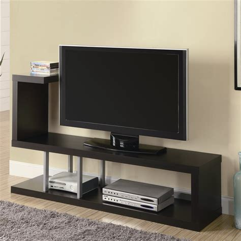 Tv Stand Wall Designs | monarch specialties i 255 60 in tv console lowe s canada