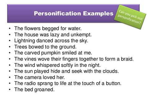 personification exles in poems driverlayer search engine