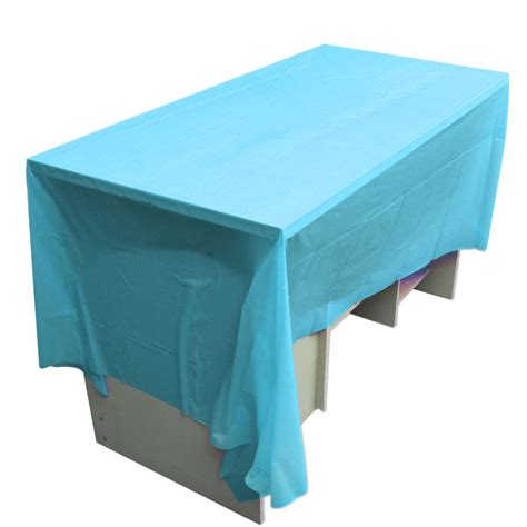 table cover 270x135cm color waterproof plastic rectangular table
