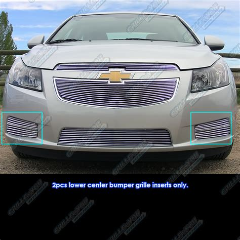 chevy cruze light covers fits 2011 2014 chevy cruze fog light cover billet grille