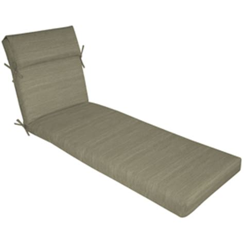 allen roth chaise lounge shop allen roth texture cushion for chaise lounge at