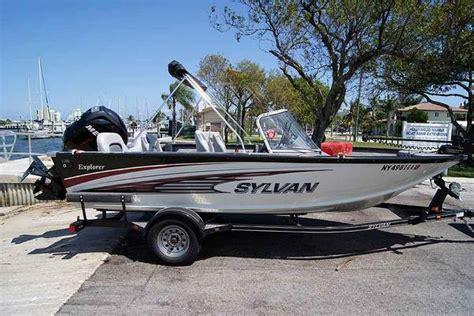 sylvan boats aluminum sylvan aluminum fishing boats for sale