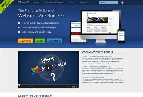web design inspiration joomla 20 beautiful joomla website for inspiration