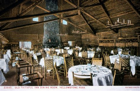 Old Faithful Inn Dining Room by Old Faithful Inn Dining Room Alliancemv Com