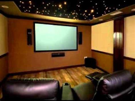 diy home theater room decor ideas youtube