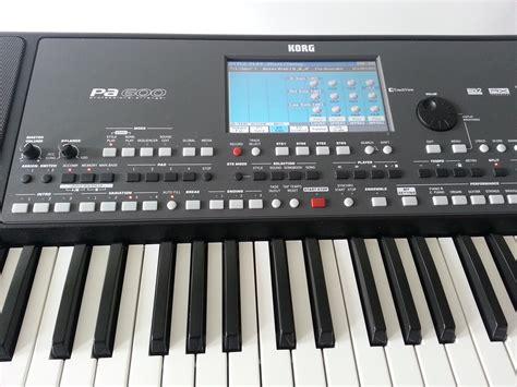 Keyboard Korg Pa600 Baru korg pa600 image 1093637 audiofanzine