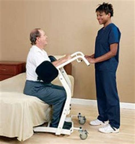 Ez Stand Mobile Stool by Unique And Portable Patient Lifts Assist Patient And