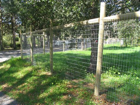 wire deer fence by arbor fence inc good idea for growing