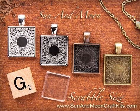 what size are scrabble tiles scrabble tile size pendant tray setting charm silver