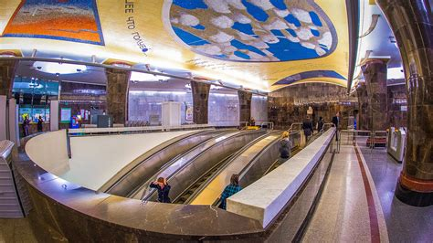 moscow train station 20 moscow metro stations ranging from beautiful to