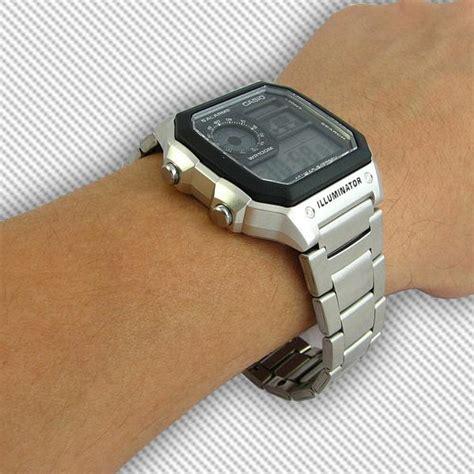 Jam Tangan Casio Ae 1200wh 1b ceas casio digital unisex ae 1200whd 1av