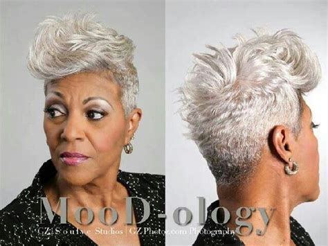 gray african american hairstyle 78 images about older african american women hairstyles