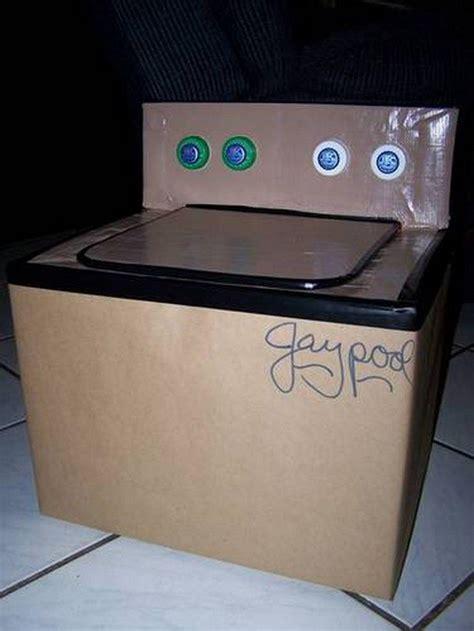 cardboard washing machine  kids craft