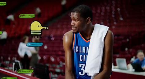 doodle jump kevin durant that s what i call a us open edition what are do