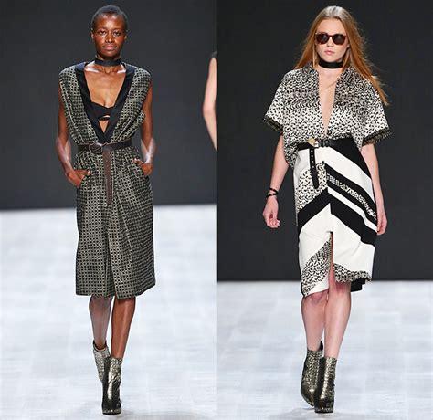 fashion design courses zurich lug von siga 2015 spring summer womens runway denim