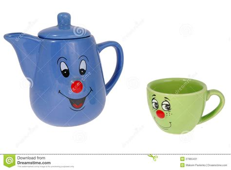 tea and coffee mugs tea mugs and coffee cups stock image image 27965431