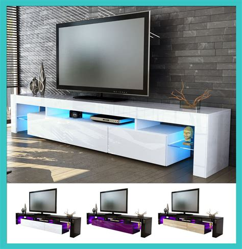 mobili sala da pranzo moderni dettagli su mobile tavolo porta tv moderno laccato lucido