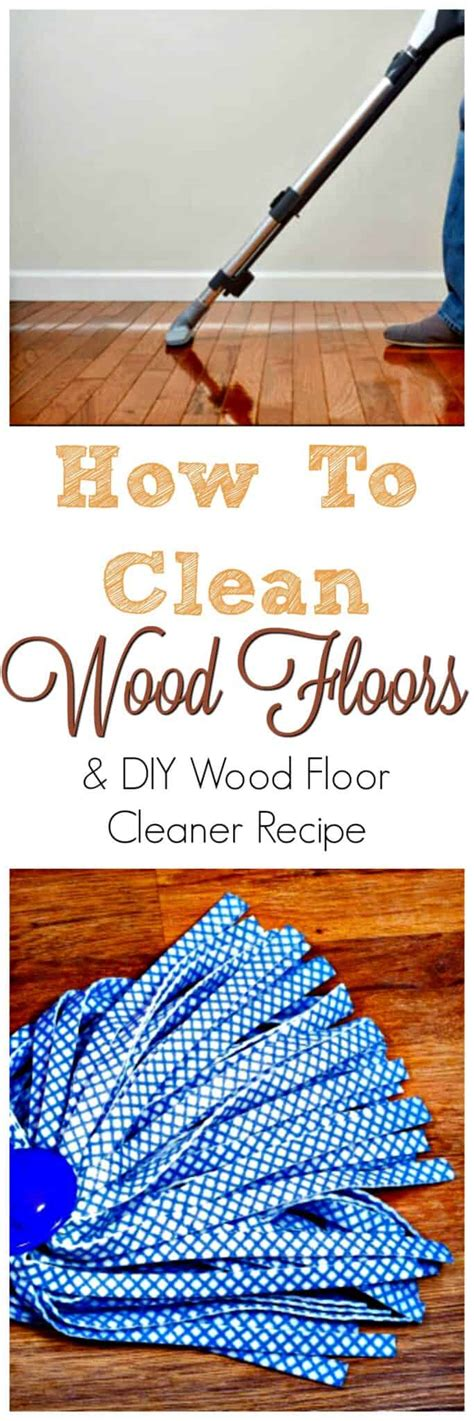 clean wood floors diy cleaning mix