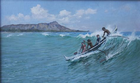 canoes waikiki file canoe surfing waikiki by d howard hitchcock jpg