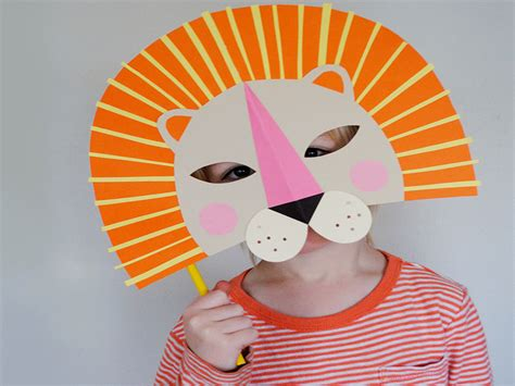 How To Make A Mask Using Paper - 9 diy masks to make with your inhabitots