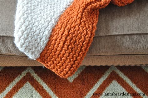 loom knitting blanket pumpkin and knit throw k bray designs