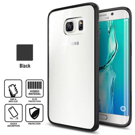 Spigen Ultra Hybrid Soft Cover Samsung Galaxy S6 Edge sgp11700 sgp11699 galaxy s6 edge plus genuine spigen