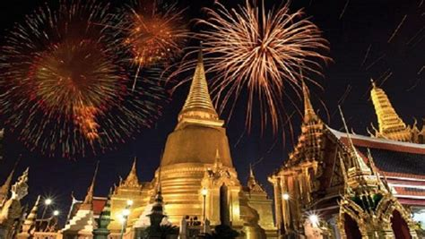celebrate asian  years eve   thailand cities