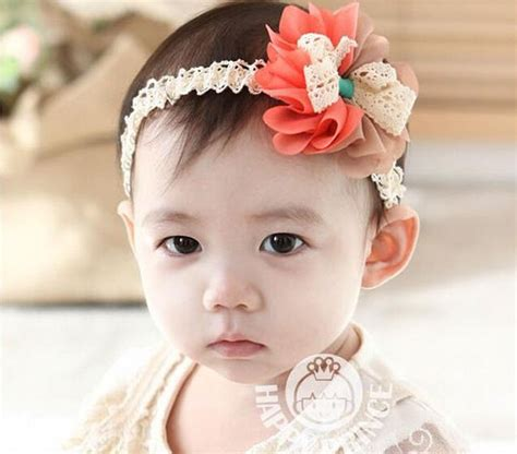 44 best baby hair accessories images on bicolor chiffon flowers infant kid hair band headwear baby